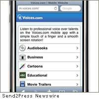 Voices mobile app