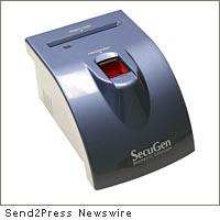 SecuGen iD-USB reader