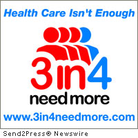 3 in 4 Need More campaign