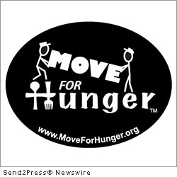 NEPTUNE, N.J., March 21, 2012 (SEND2PRESS NEWSWIRE) -- Move For Hunger is proud to announce the partnership of Victory Packaging at the Champion Level. While Victory Packaging has been a gracious partner of Move For Hunger since 2010, they are strengthening their relationship for 2012 by increasing their support from Mission to the Champion level.