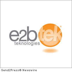 CHARDON, Ohio, March 22, 2012 (SEND2PRESS NEWSWIRE) -- e2b teknologies (www.e2btek.com), an ERP and CRM software provider and developer, announced today that the company is now an authorized reseller of Intacct cloud financial management and accounting applications. In use by more than 5,000 businesses worldwide, Intacct helps streamline financial processes and improve business visibility.