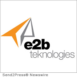 CHARDON, Ohio (SEND2PRESS NEWSWIRE) -- e2b teknologies today announced that its e2b enterprise division has achieved Gold Partner status with Epicor for 2012. This title is awarded to companies who have met the highest annual revenue goals and certification requirements set forth by Epicor for their channel partners. e2b teknologies was recognized as one of only three Epicor Gold Partners worldwide at the Epicor Momentum partner conference held earlier this month in Las Vegas.