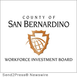 SAN BERNARDINO, Calif. (SEND2PRESS NEWSWIRE) -- The San Bernardino County Board of Supervisors declared September 2012 to be Workforce Development Month. The San Bernardino County Workforce Investment Board will be recognized for its programs that assist job seekers and businesses when they have nowhere else to turn.