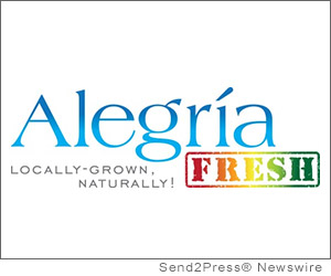 LAGUNA BEACH, Calif. (SEND2PRESS NEWSWIRE) -- With the arrival of the holiday season, Alegria Fresh announces 'healthy greens' gift giving. This year, instead of giving the latest technology, entertainment or fashion goods, Alegria Fresh makes it possible to give vitality and longevity with its new one-month gift subscription. Enjoying a produce bouquet full of nutrient-rich greens and herbs will go along way to battling the calories and damage done from eating high-fat holiday treats.