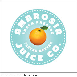 KENOSHA, Wis., Oct. 17, 2011 (SEND2PRESS NEWSWIRE) -- Ambrosia Juice Co., a purveyor of fresh fruit and vegetable juices and smoothies, has opened a retail location in Pleasant Prairie, Wis. The 1,200-square-foot store at 9901 77th Street, near the new Target on Highway 50 at the Shoppes at Prairie Ridge, is a healthful destination serving flavorful fresh-pressed fruit and vegetable juices; fresh-squeezed orange juice; and smoothies made from whole fruits, juice and ice with a variety of healthful supplemental healthful add-ins available.