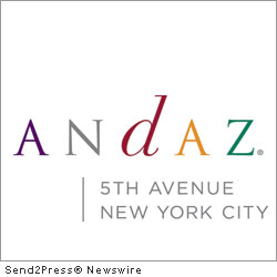 NEW YORK, N.Y., Oct. 18, 2011 (SEND2PRESS NEWSWIRE) -- Andaz 5th Avenue, a hotel inspired by the culture of New York City, announces the launch of tbd Art - a rotating art series. The first year of rotating art started on October 6th with artist M.Dreeland. In total, the hotel will have four diverse artists; M.Dreeland, Mister Cartoon, Claw Money and a final artist (currently TBD).