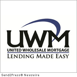 BIRMINGHAM, Mich. (SEND2PRESS NEWSWIRE) -- United Wholesale Mortgage (UWM), a national wholesale mortgage lender operating in 47 states, announced that they earned a spot on Mortgage Technology magazine's 2011 Top 25 Tech-Savvy Lenders list for the first time. UWM built its own proprietary technology, which in part helped the company to become one of the largest wholesale lenders.