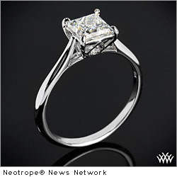 HOUSTON, Texas, Oct. 26, 2011 (SEND2PRESS NEWSWIRE) -- Whiteflash Inc. announced today the exclusive launch of the latest collection of engagement rings by award winning jewelry designer Vatche. The 'Serenity' collection features modern designer styling for the classic engagement ring.