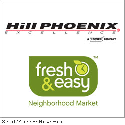 FOLSOM, Calif., March 14, 2012 (SEND2PRESS NEWSWIRE) -- Hill PHOENIX, a designer and manufacturer of commercial refrigeration equipment, and Fresh and Easy Neighborhood Market are pleased to announce the grand opening of a new GreenChill Platinum Award-winning Fresh & Easy store in Folsom, California.