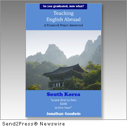 SAN FRANCISCO, Calif., April 4, 2012 (SEND2PRESS NEWSWIRE) -- Goodwin Publishing, LLC announced today the release of its new audio and e-book, 'Teaching English Abroad: A Financial Prayer Answered' (ISBN: 987-1-937860-20-2), by Jonathan Goodwin.