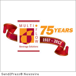 HUNTINGDON VALLEY, Pa., April 4, 2012 (SEND2PRESS NEWSWIRE) -- The Employees of Multi-Flow Industries, a manufacturer and distributor of fountain-dispensed beverages, are happy to announce their Company's 75th Year Anniversary.
