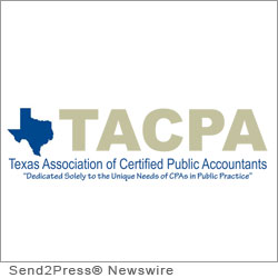 DALLAS, Texas, April 23, 2012 (SEND2PRESS NEWSWIRE) -- The Texas Association of Certified Public Accountants (TACPA - www.tacpa.net) announced today the opening of registration for its 2012 Spring Meeting and CPE Sessions. This conference is open to all Texas-licensed CPAs and meets all Texas CPE requirements.