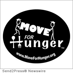 KANSAS CITY, Mo., May 2, 2012 (SEND2PRESS NEWSWIRE) -- Move For Hunger is proud to announce their recent partnership with Mango Moving at the Signature Level. Mango Moving LLC, a Kansas City-based national moving company, has committed to support Move For Hunger's fight against hunger through a generous financial contribution.