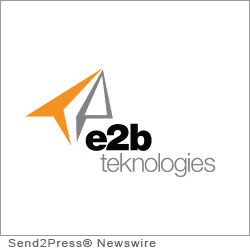 CHARDON, Ohio (SEND2PRESS NEWSWIRE) -- e2b teknologies (e2btek.com), a business software and services provider, announced today a new brand identity featuring a new identity and new names for its three operating business units. The previous business unit logos featured a 'floating ball' which has been replaced with the familiar 'paper airplane' logo used for e2b's Anytime brand products.