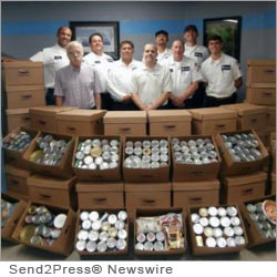 PALM SPRINGS, Calif. (SEND2PRESS NEWSWIRE) -- KC's 23 1/2 Hour Plumbing, Inc., a Palm Springs plumbing contractor, announced this week that it has now reached the three-ton mark in collecting food for community donations. This past ton was collected within three months.