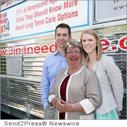 OVERLAND PARK, Kan. (SEND2PRESS NEWSWIRE) -- MasterCare Solutions, a National LTC Network member, hosted the May 11 Oregon stop of the 3in4 Need More Tour. Nathan Sanow, Business Development Manager at MasterCare, and Erica Drake, Marketing Specialist at the firm, accompanied tour spokesperson and elder care expert Dr. Marion Somers ('Dr. Marion') as she addressed the need for long term care planning in Portland, Oregon.