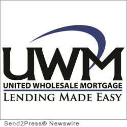 BIRMINGHAM, Mich. (SEND2PRESS NEWSWIRE) -- United Wholesale Mortgage (UWM), a national wholesale mortgage lender operating in 47 states, announced that it will be holding an educational webinar on how its HARP 2.0 program can increase originators' business.