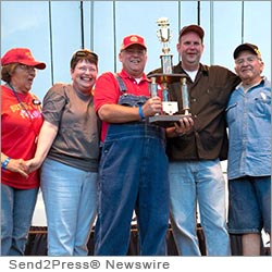 JACKSONVILLE, Ill. (SEND2PRESS NEWSWIRE) -- It's truly rib ticklin' news. A Jacksonville caterer - Twyford BBQ and Catering - is pleased to announce that it placed seventh in the rib category out of 121 teams that competed at the Memphis in May World Barbecue Championship.