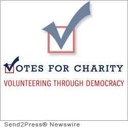 PHILADELPHIA, Pa. (SEND2PRESS NEWSWIRE) -- Inspired by the millions of dissatisfied Americans taking to the streets, Votes for Charity, Inc. is a democratic outlet for the disenfranchised voters in this country. Instead of voting for the status quo, the 'Volunteer Voters' will be able to use their vote to redirect millions of dollars from political propaganda, to the best charities in America.