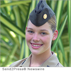 WASHINGTON, D.C. (SEND2PRESS NEWSWIRE) -- Young Marines National Executive Director Mike Kessler, announced seventeen year old McCall Behringer of Baltimore, Maryland, is the organization's National Young Marine of the Year for 2012-2013. The Young Marines (youngmarines.com) is a national non-profit youth organization for boys and girls ages 8 through the completion of high school.