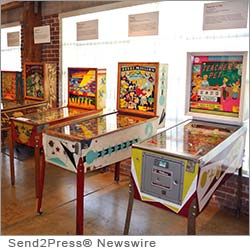 ALAMEDA, Calif. (SEND2PRESS NEWSWIRE) -- The Pacific Pinball Museum (PPM) proudly announces the opening of the Pinball Oddity exhibit, featuring a collection of pinball rarities and giant mural reproductions of pinball art. The exhibit represents the first in a series of scalable exhibits the museum offers for lease to institutions nationwide.