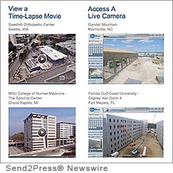 ATLANTA, Ga. (SEND2PRESS NEWSWIRE) -- OxBlue, a leader in the construction camera industry, announced today an incentive program for existing clients to maximize the value they receive from their OxBlue construction camera service. 'We want to ensure that our clients have access to the right construction webcam system for the projects they are building today,' stated Chandler McCormack, President of OxBlue.