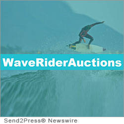 HUNTINGTON BEACH, Calif. (SEND2PRESS NEWSWIRE) -- On Saturday August 18, 2012 Waverider Auctions will hold one of the largest main land surf charity auction events in history. Charities benefiting from a percentage of the auction fees will be: The International Surf Museum, The Surfrider's Foundation, Wounded Warriors Project and CHOC Hospitals, according to Seth Schiller, producer of the event.