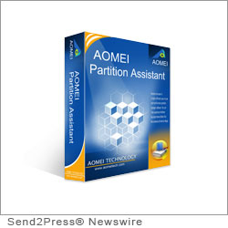 NEW YORK CITY, N.Y. (SEND2PRESS NEWSWIRE) -- AOMEI Technology today released AOMEI Partition Assistant 5.1 worldwide downloads, the latest version of its best-selling partition software. Its ability to resize, migrate, merge, split, create and recover partitions makes it one of the most powerful partition software solutions in the market; and helped it win so many awards from most authority editors, such as CNET, PCWorld, Softpedia, Freewaregenius, etc.