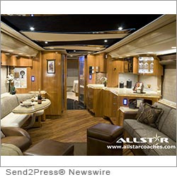 FORT LAUDERDALE, Fla. (SEND2PRESS NEWSWIRE) -- Traveling in a luxury RV rental just got even better. Allstar Coaches is paving the way and setting new standards in the luxury motorhome rental market. RV rentals continue to grow in popularity. The Recreational Vehicle Industry Association (RVIA) attributes this growth to flexibility and convenience, comfort, family appeal, affordability, lure of the outdoors, versatility and availability of rental RVs.