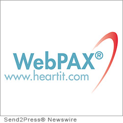 INDIANAPOLIS, Ind. (SEND2PRESS NEWSWIRE) -- Heart IT, the global leader that pioneered the first FDA approved zero-footprint medical imaging workstation, has joined Hendricks Regional Health to announce the implementation of Heart IT's WebPAX(R) platform to help manage and distribute cardiac images.