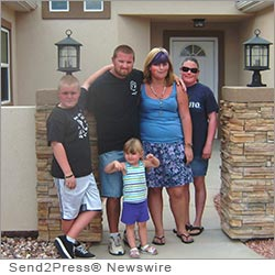 LAS VEGAS, Nev. (SEND2PRESS NEWSWIRE) -- Today, Professional Community Management of California, Inc. (PCM) announced that employee Jeremy Blakely built and moved his family into a new home in Mesquite, NV. The project was through Mutual Self Help by Color Country Community Housing (CCCHI), in partnership with the USDA Rural Development Agency. Blakely works in the facilities department at Sun City Mesquite, which is managed by the company.