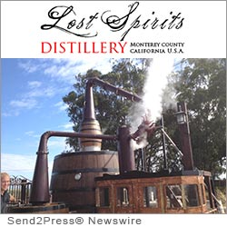 MONTEREY, Calif. (SEND2PRESS NEWSWIRE) -- Lost Spirits Distillery - a tiny California distillery manned by just its two founders - announces the unveiling of their dedicated single malt distillery. The project, which has been under wraps for some years, is an American mom and pop distillery unlike any other. And their first release - Leviathan I - is peated to a staggering 110ppm. Attaining phenol levels only accomplished by two distilleries in the past.