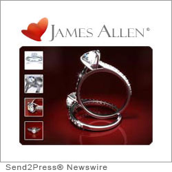 NEW YORK, N.Y. (SEND2PRESS NEWSWIRE) -- James Allen has announced a new flexible financing program to provide customers with even more payment options to purchase the diamond engagement ring of their dreams. James Allen customers can now apply for 6-month interest-free financing or 24-month financing, quickly and without hassle, all from the convenience of home.