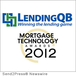COSTA MESA, Calif. (SEND2PRESS NEWSWIRE) -- LendingQB, a provider of seamless Web-based mortgage lending technology, has been selected by SourceMedia's Mortgage Technology magazine as a finalist for its 'Release of the Year' award. LendingQB's innovative engineering of its Web-based end-to-end loan origination system (LOS) - and what it has accomplished for lenders - resulted in the company being named one of the three finalists for the award.