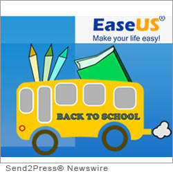 NEW YORK CITY, N.Y. (SEND2PRESS NEWSWIRE) -- Only a few days left before the end of summer holiday and students have to go back to their school. In the meantime, they will find a big surprise is waiting for them - EaseUS Software's 50 percent OFF offer plus a free gift box. As a leading provider of data recovery, partition manager and backup utilities, EaseUS has decided to help those cash-strapped students by providing data protection, storage management as well as data recovery tools.