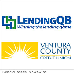COSTA MESA, Calif. (SEND2PRESS NEWSWIRE) -- LendingQB, a provider of seamless mortgage lending technology, announced that California-based Ventura County Credit Union (VCCU) has successfully implemented its end-to-end browser-based loan origination system (LOS). VCCU is using LendingQB's LOS platform to effectively manage growth, ensure excellence in member service and cut originations costs.
