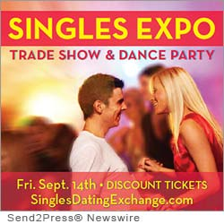 SACRAMENTO, Calif. (SEND2PRESS NEWSWIRE) -- Professionals Guild (www.PGuild.com) announced today it is hosting a Singles Expo, Trade Show and Dance Party at the Hilton Hotel Arden West, 2200 Harvard St., Sacramento 95815, on Sept. 14, 2012.