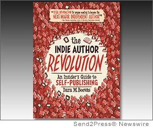 MINNEAPOLIS, Minn. (SEND2PRESS NEWSWIRE) -- If you've got passion, a plan and persistence, you don't need an agent to become a published author. Indie authors own a significant chunk of the book market, and newcomers can join their ranks with help from indie author mentor Dara Beevas, whose new book, 'The Indie Author Revolution: An Insider's Guide to Self-Publishing' (ISBN 978-1-59298-504-3), hits shelves this month.