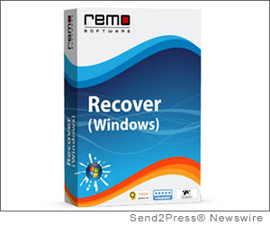 MOUNTAIN VIEW, Calif. (SEND2PRESS NEWSWIRE) -- Remo Software today announced the launch of an updated version of Remo Recover (Windows) - a highly rated and widely acclaimed recovery application. The new version comes equipped with an advanced intelligent scanner to recover graphics files like Adobe Indesign; video files such as Divx, Xvid, MTS and M2TS; SWF flash file; zip file; and email personal storage archives of Microsoft Outlook PST and OST.