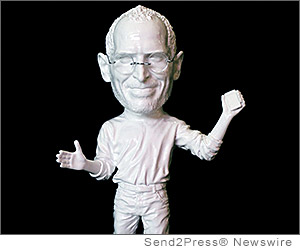 LOS ANGELES, Calif. (SEND2PRESS NEWSWIRE) -- In wake of the recent Foxconn riot, Cory Allen Contemporary Art (CACA) announces that Post PC artist XVALA will debut his latest sculpture of the Apple-banned Steve Jobs action figure in an upcoming gallery show at AIS Editions in the Los Angeles Brewery Arts Complex.
