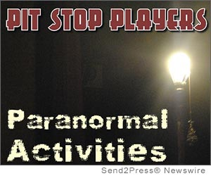 Pit stop players present paranormal activities for Paranormal activities in the world