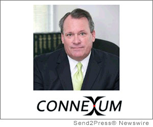 IRVINE, Calif. (SEND2PRESS NEWSWIRE) -- Connexum, LLC, an emerging leader in network, voice and data services for the telecommunication industry, announced it has hired industry veteran Ron McNab as president and CEO. Mr. McNab is responsible for defining Connexum's strategic direction, providing leadership and executing on the company's goal of expanding its business and growing its product line.