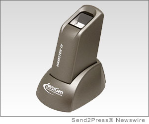 SANTA CLARA, Calif. (SEND2PRESS NEWSWIRE) -- SecuGen Corporation is pleased to announce that its Hamster(TM) IV fingerprint reader has been certified by the Standardization Testing and Quality Certification (STQC) Directorate, an office of the Department of Electronics and Information Technology (DeitY) of India. This certification was obtained in cooperation with and through the determined efforts of Tutis Technology Ltd., SecuGen's longtime partner in India.