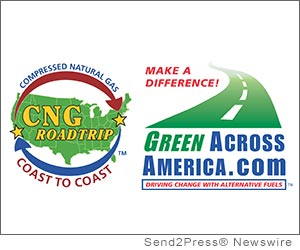 SANTA MONICA, Calif. (SEND2PRESS NEWSWIRE) -- Media Center Entertainment announced today that two dozen of the U.S. Department of Energy supported Clean Cities Coalitions have pledged to hold public alternative fuels events and press conferences to support the 'GreenAcrossAmerica.com 2012 CNG Road Trip.'