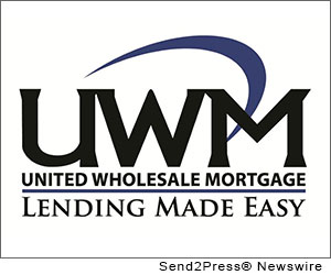BIRMINGHAM, Mich. (SEND2PRESS NEWSWIRE) -- United Wholesale Mortgage (UWM), a national wholesale mortgage lender operating in 49 states, announced that it grew its residential lending volume from $1.245 billion in Q2 to $2.019 billion in Q3, representing a 62 percent increase.