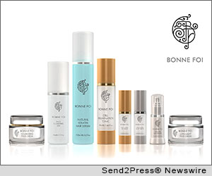 HUNTINGTON BEACH, Calif. (SEND2PRESS NEWSWIRE) -- Bonne Foi Beauty Products, an anti-aging skin care line, is proud to host its first Autumn Open House event in downtown Huntington Beach on Tuesday, November 13, 2012.
