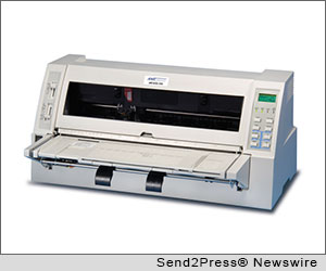 CAMARILLO, Calif. (SEND2PRESS NEWSWIRE) -- AMT Datasouth Corporation (www.AMTdatasouth.com) is pleased to introduce its new Accel 7450 serial-dot-matrix (SDM) printer. The Accel 7450 features the latest technology in motors, drivers and electronics. The Accel 7450 is the successor to the very successful Accel 6300 and 7350 series printers. The Accel 7450 sets a new standard for best-in-class heavy-duty SDM printers.