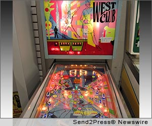 ALAMEDA, Calif. (SEND2PRESS NEWSWIRE) -- The Pacific Pinball Museum (PPM) welcomes the public to experience pinball with a European flair. Play a game on the newest addition to their exciting collection of more than 80 playable games: a 1967 Rally West Club. This game marks the one resident of their collection not produced in the United States. Rally was a French pinball manufacturer designing games for the European market.