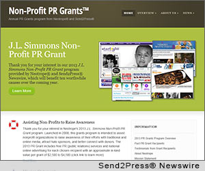 TORRANCE, Calif. (SEND2PRESS NEWSWIRE) -- California-based marketing and PR firm, Neotrope(R), today announced the formal launch of a dedicated web portal for the company's annual Non-Profit PR Grants program at http://prgrants.com as part of its 30 year anniversary. The PR Grant program was originally launched in 2000 to help assist U.S. 501(c)3 worthy causes to raise awareness, attract halo sponsors, and better connect with donors and volunteers.