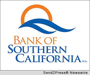 SAN DIEGO, Calif. (SEND2PRESS NEWSWIRE) -- Bank of Southern California, a locally owned community business bank, has been recognized as one of the top small business lenders among medium sized banks for the largest number and dollar volume of 7(a) loans in 2012 in the greater San Diego area according to the U.S. Small Business Administration.